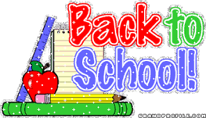 Photo of colorful Back To School sign