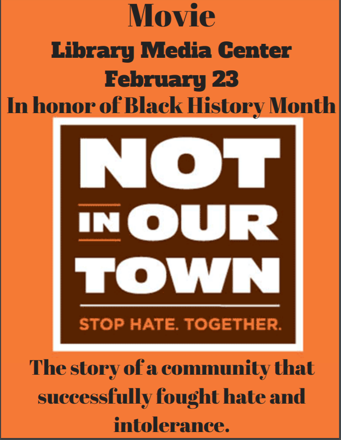 Not in Our Town movie screening and discussion