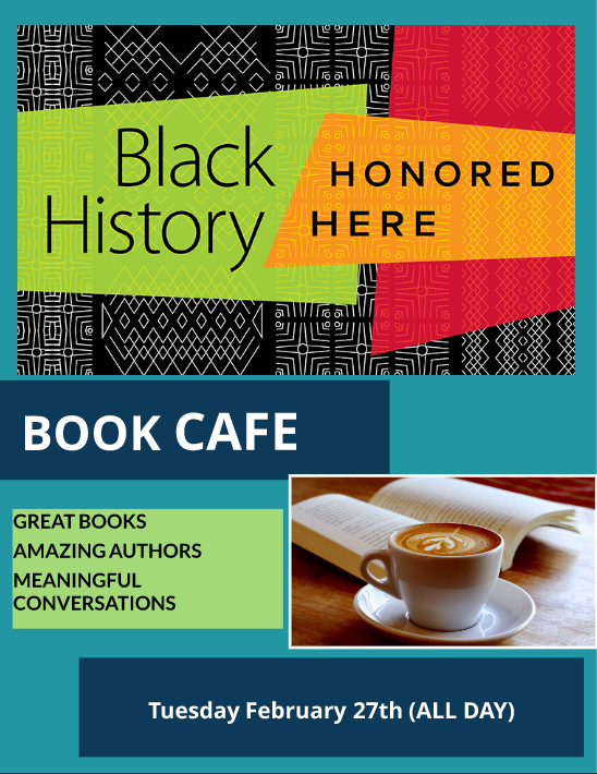 Black History Month Book Cafe