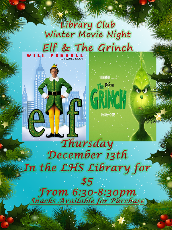 Winter Holidays Movie Night