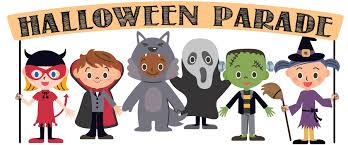 Halloween Parade! Thurs, Oct 31 @ 1:10 pm