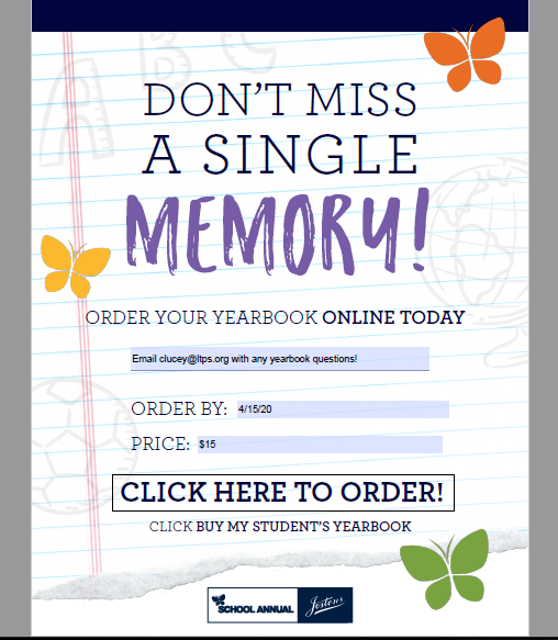 Yearbooks On Sale...now!