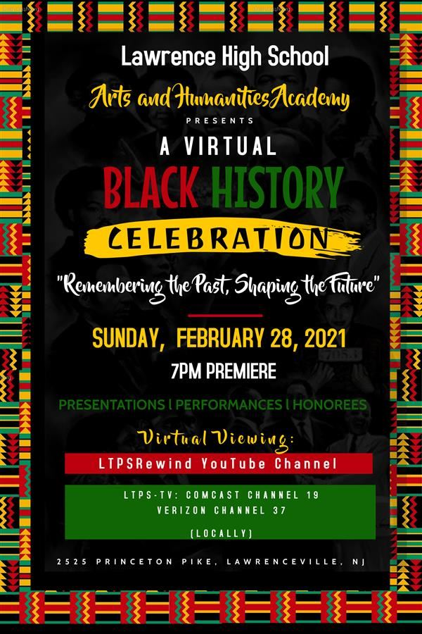 7th Annual Black History Celebration flyer