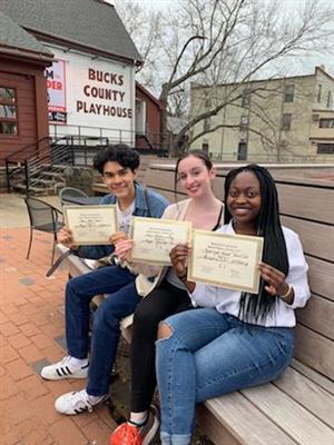 LHS Theater Stars Shine at Bucks County Playhouse Festival