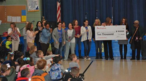 Eldridge Park School Receives $10,000 Donation from Burlington Stores