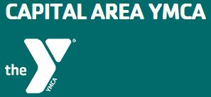 teal with white text large Y with smaller Capital  Area YMCA text