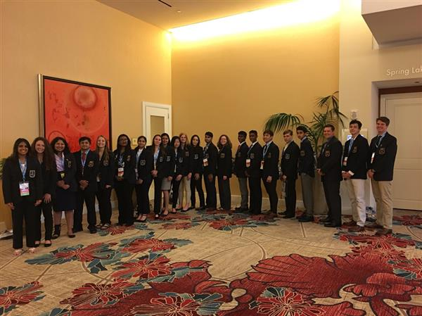 Twenty-two LHS DECA students compete at the International Career Development Conference in Orlando, FL