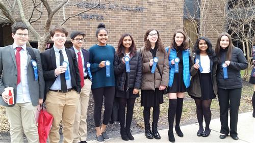 Nine LHS Students Qualify for NJ State History Day