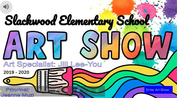 Slackwood School Art Show