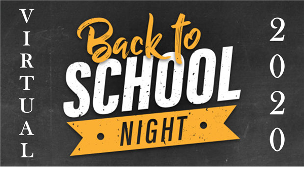LHS Virtual Back-to-School Night 2020