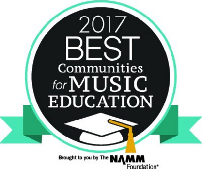 NAMM 2017 Best Communities for Music Education logo